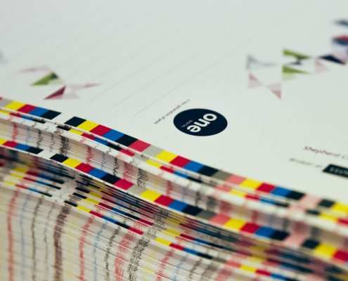One Digital Litho Print